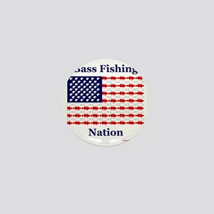 bass nation Mini Button